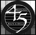 Restaurant 45 Logo